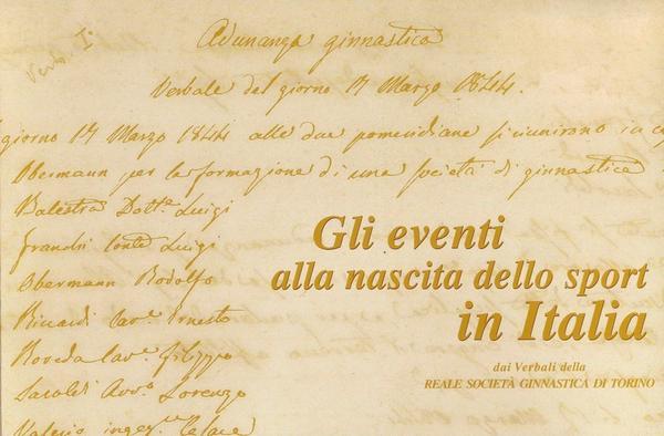 Gli eventi alla nascita dello sport in Italia