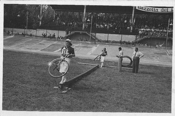 prova di ciclismo femminile