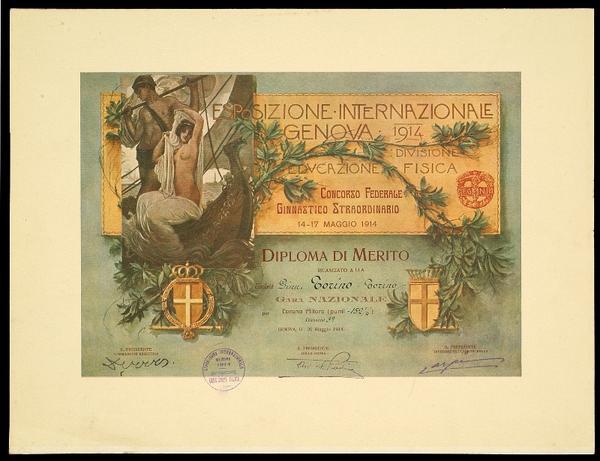Concorso Federale Ginnastico Straordinario per l'Esposizione Internazionale di Genova del 1914