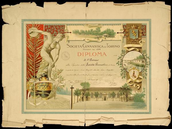 Tiro alla fune peso max - Torino, 6 giugno 1901