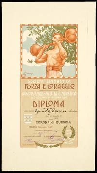Corona di quercia al Concorso Nazionale di Ginnastica - Milano, 29 maggio/1 giugno 1902