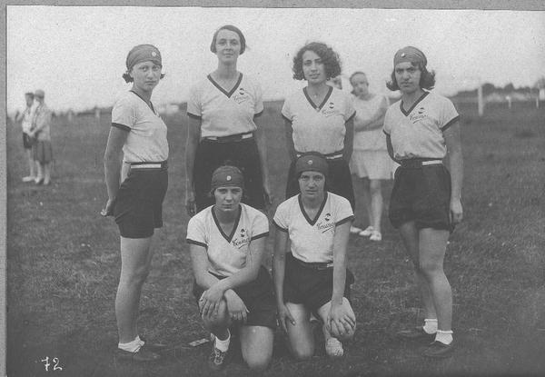 foto di gruppo fine anni '20