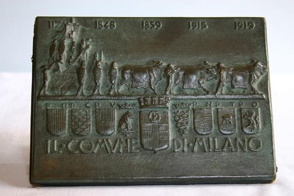 Targa Comune di Milano - 1919