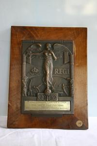 Targa offerta dalla RFGI alla Reale Società Ginnastica di Torino - 1935